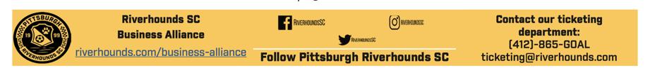 Pittsburgh Riverhounds SC Business Alliance