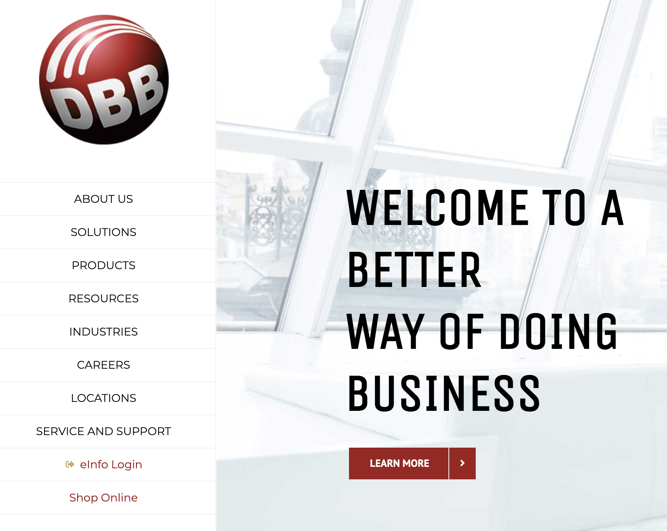 Shop Online at DBB's New Online Store