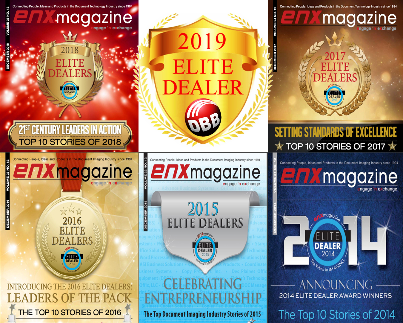 DOING BETTER BUSINESS SELECTED AS ELITE DEALER IN THE USA!