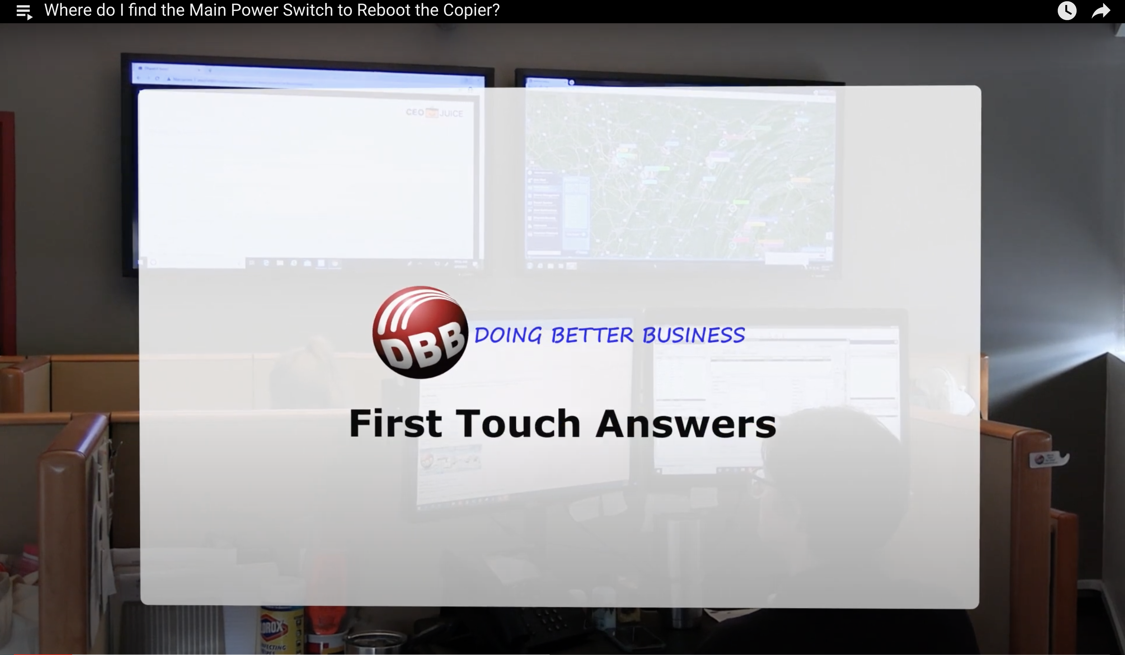Our First Touch Team Answers Common Customer Questions
