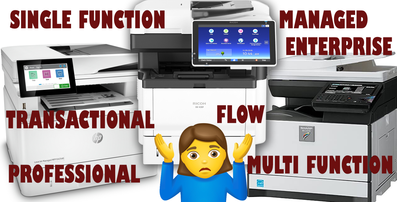 Transactional vs Managed Print Devices