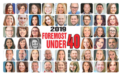 Congratulations To Our Foremost Under 40 Winners!